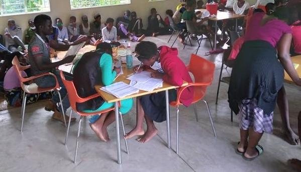 Nuevos alumnos de Kapita en busca de apadrinamiento